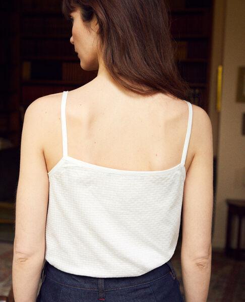 Comptoir des Cotonniers - Camiseta con tirantes finos Blanco - 3