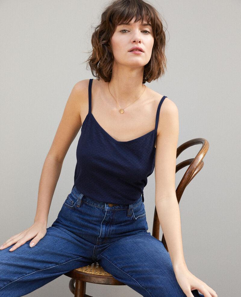Camiseta con tirantes finos Peacoat Gagnant