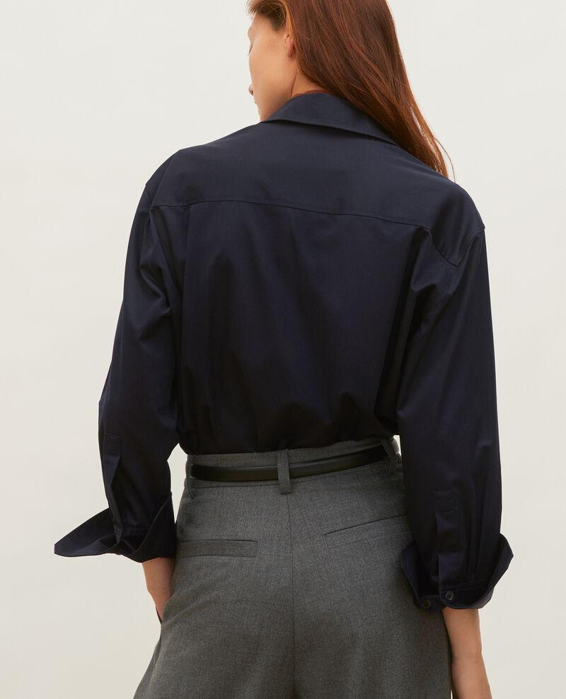Camisa de hombre de algodón oversize Night sky Mauryl