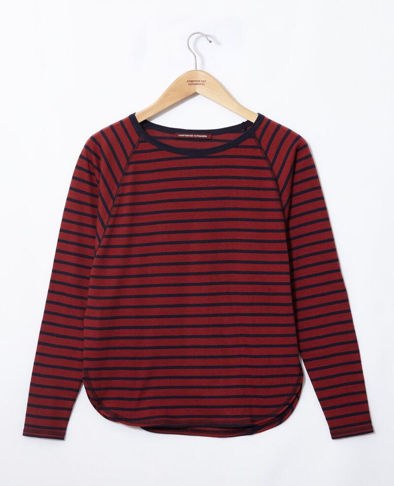 Camiseta de rayas Cowhide/peacoat Gainde