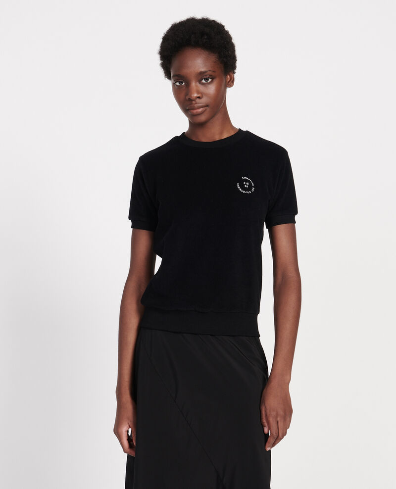 Camiseta de algodón Black beauty Lis