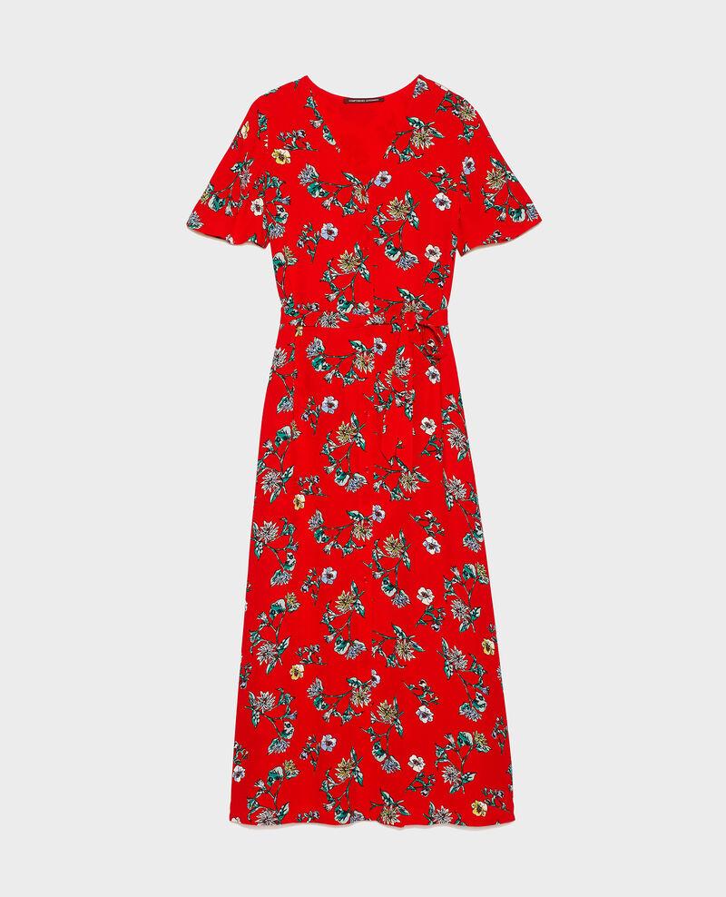 Vestido largo Herbier fiery red haze Lavish