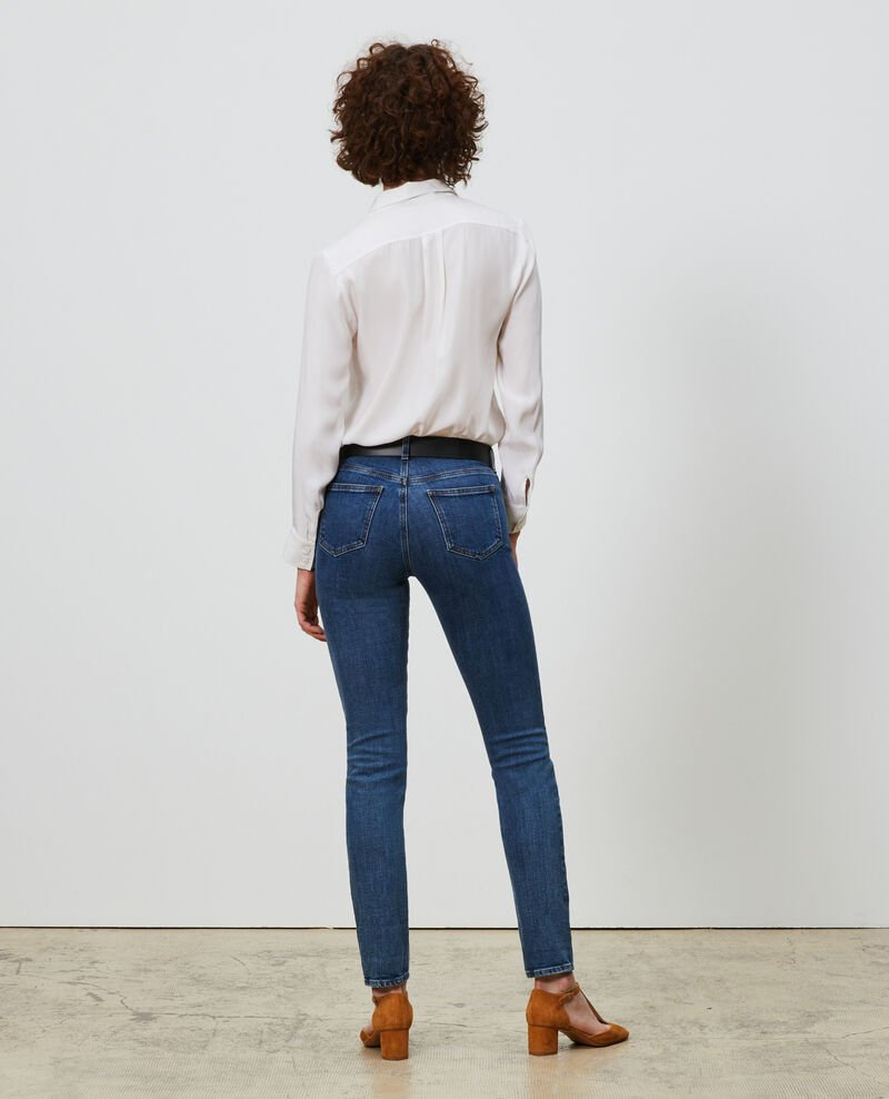 LILI - SLIM - Jeans 5 bolsillos Denim medium wash Mandro
