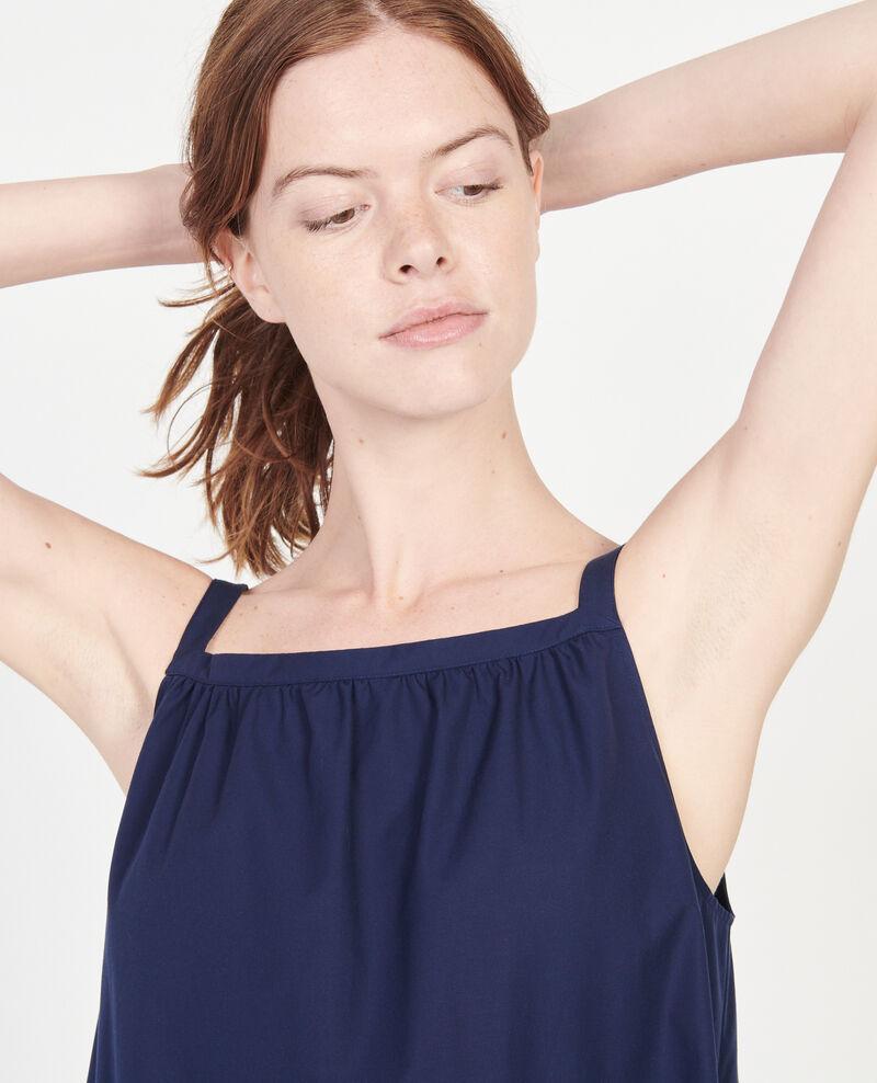 Vestido de algodón Maritime blue Lisle