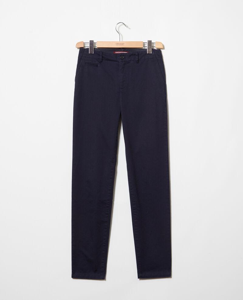 Pantalón de tela Navy blazer Irouba