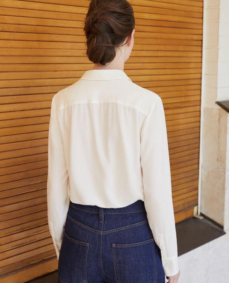 Camisa de corte recto Off white 9danimo