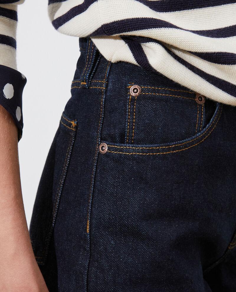 SYDONIE - BALLOON - Jeans amplios 7/8 talle alto Denim rinse Palloon
