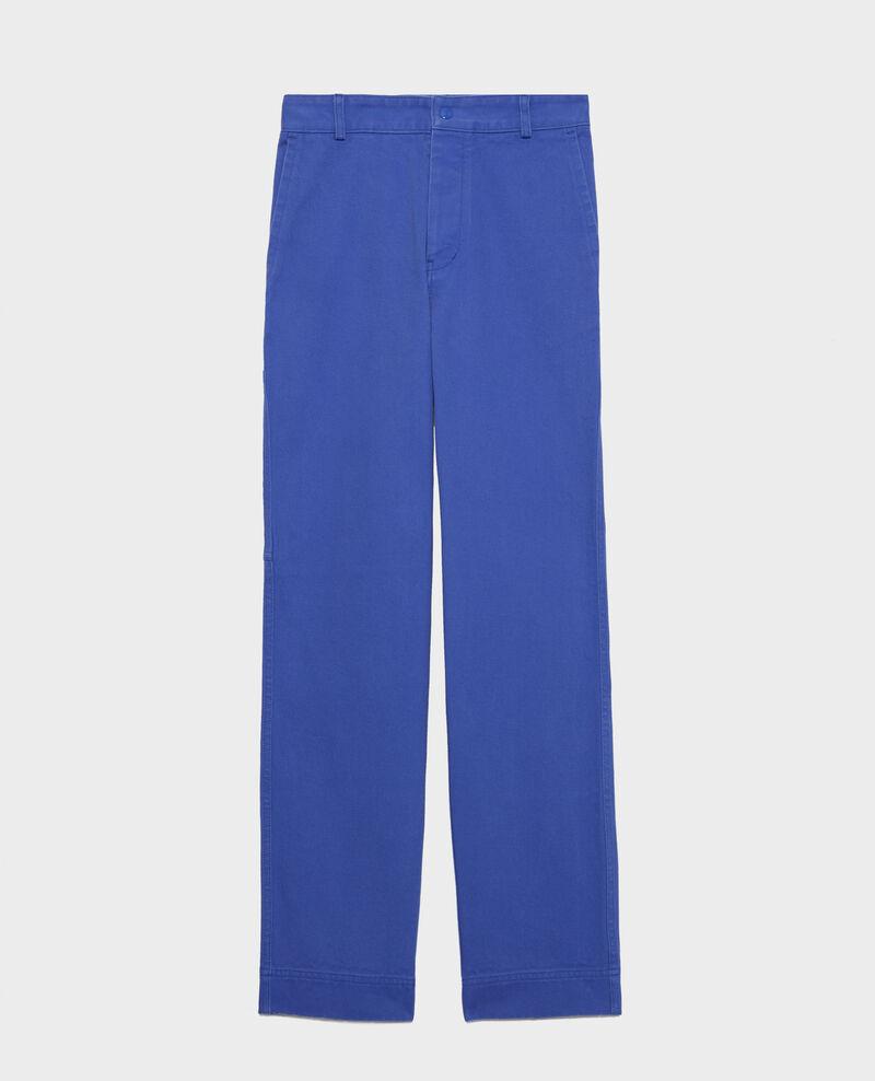 Pantalón con bolsillos Amparo blue Laora