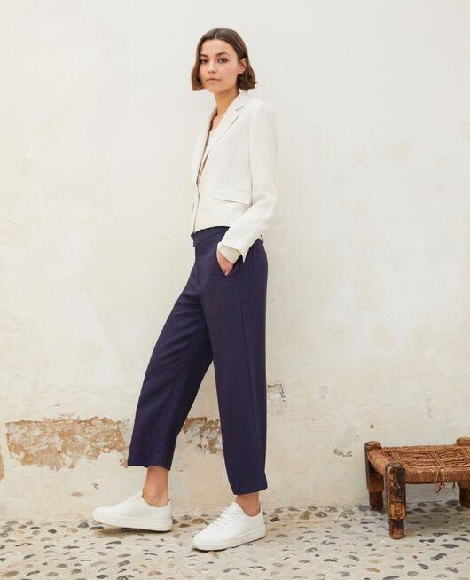 Pantalon coupe ample  INK NAVY