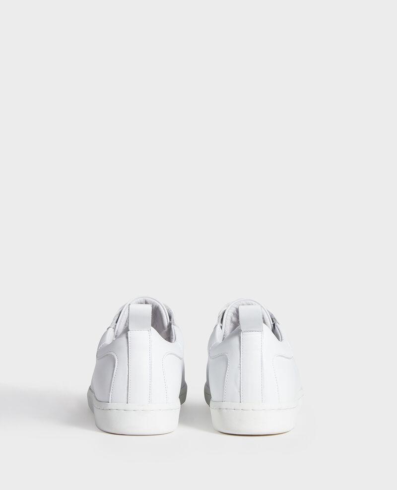 Sneakers de cuero  Optical white Lead