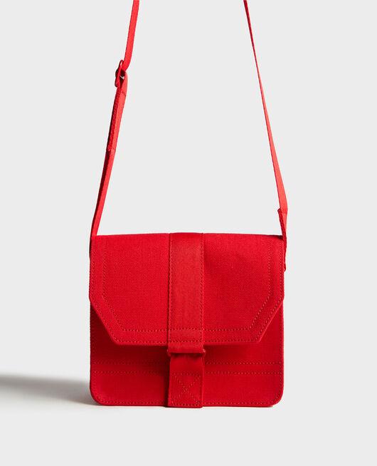 Bolso pequeño de algodón FIERY RED