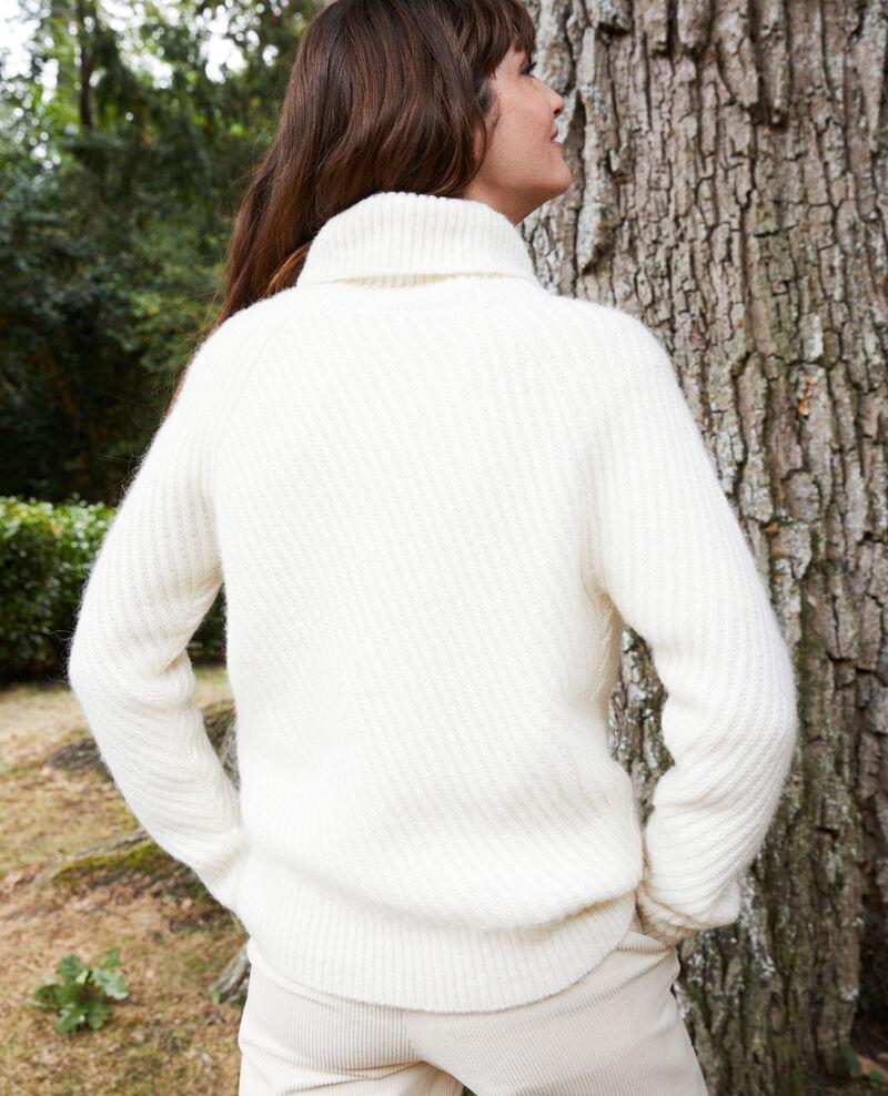 Jersey con cuello vuelto Off white Joomia