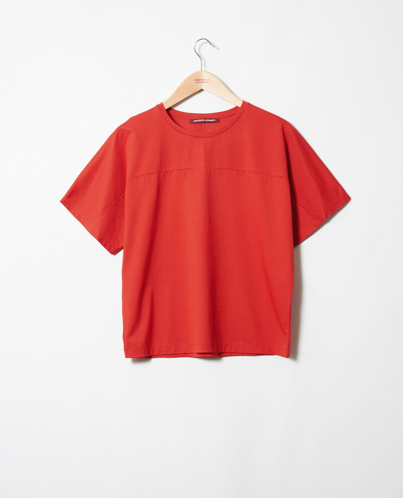 Camiseta de algodón Molten lava Jokari
