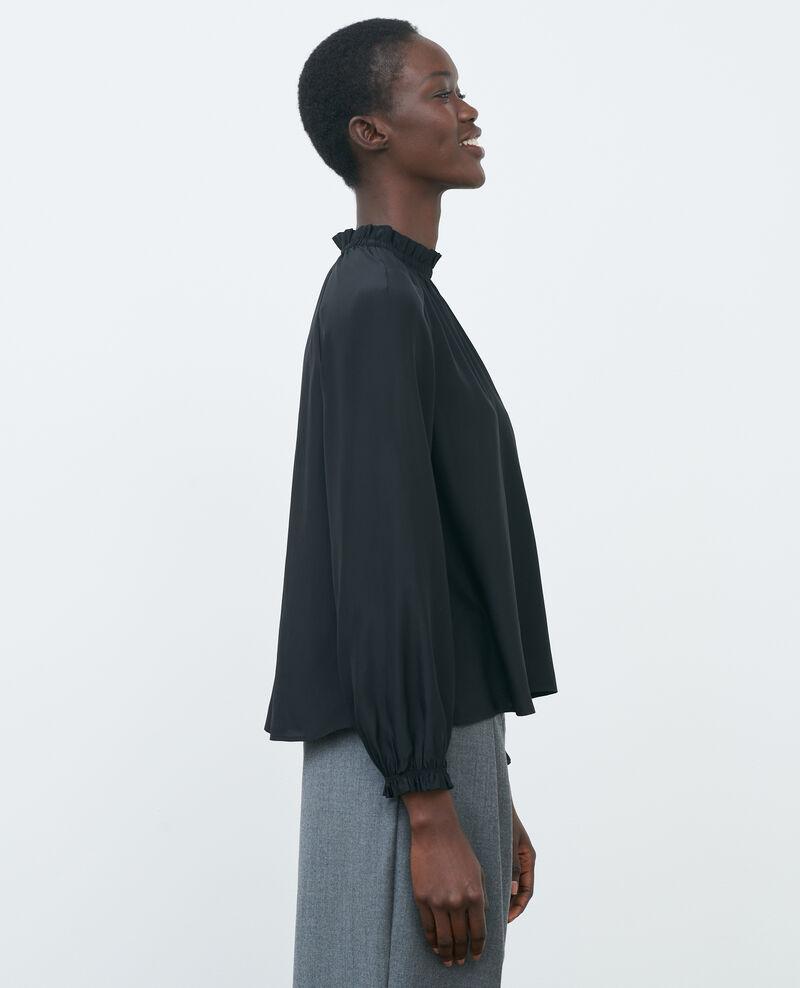 Blusa de seda Black beauty Pachat