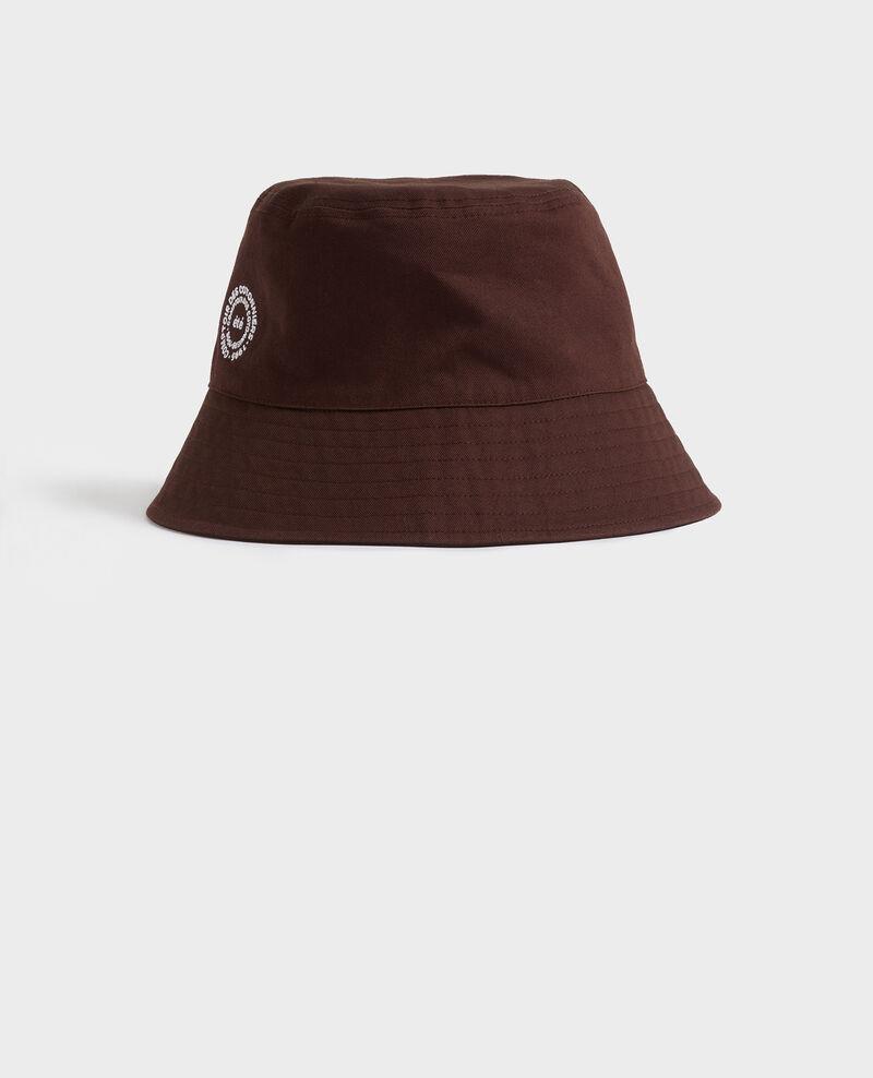 Sombrero bob de algodón liso bordado Mole Nook