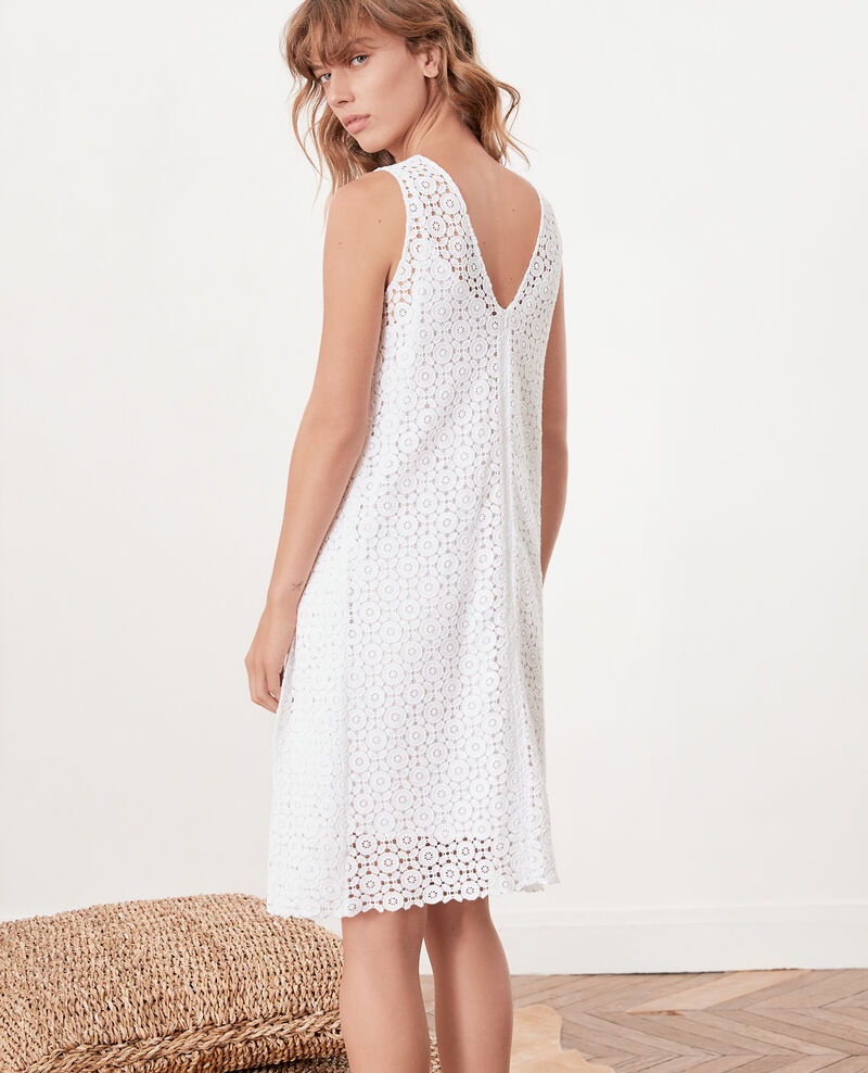 Vestido de encaje Blanc Fontpellier