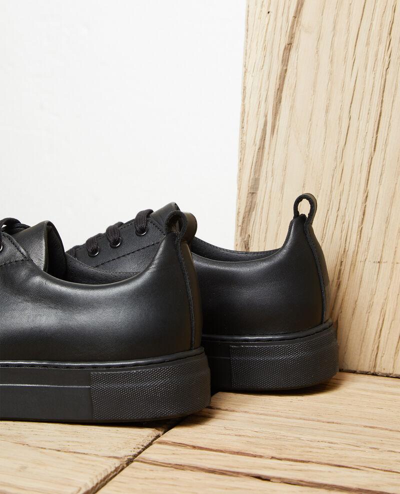 Sneakers con plataforma Noir Iginas