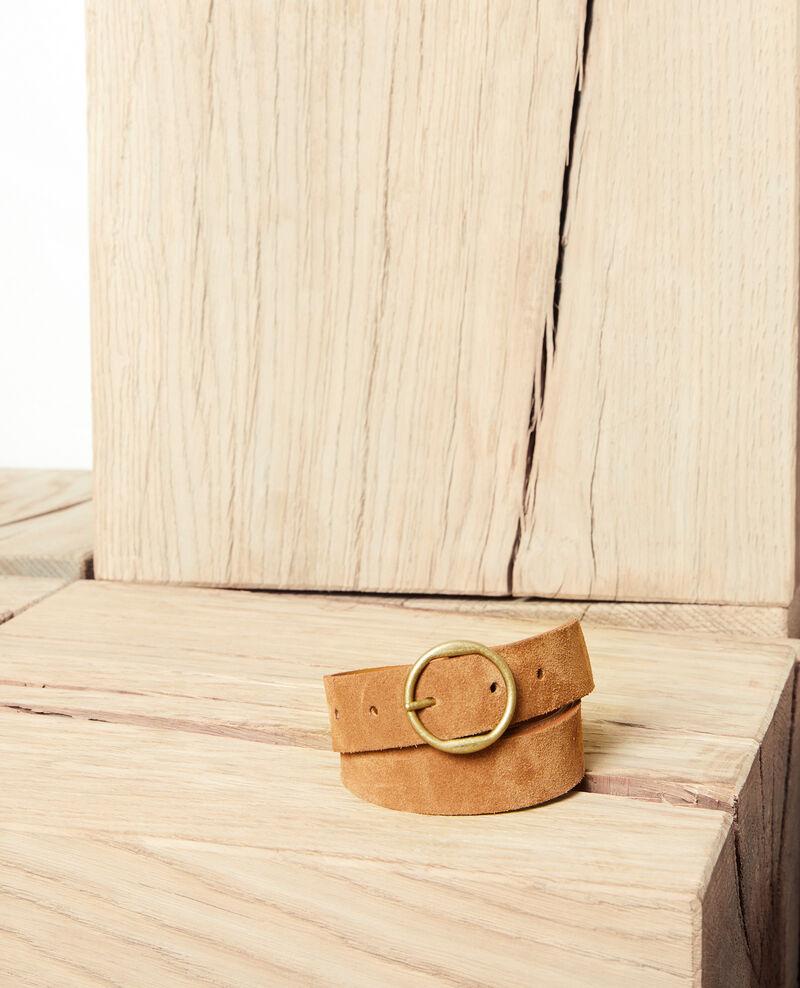 Cinturón de ante Camel Jeannani