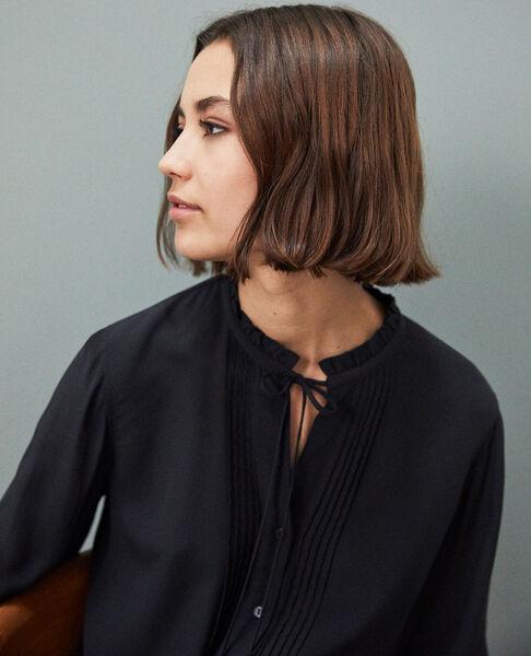 Comptoir des Cotonniers - Blusa de seda Noir - 5