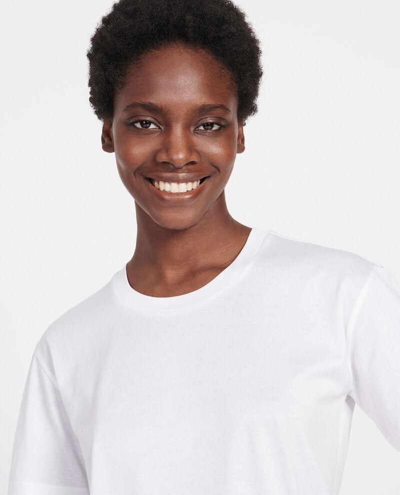 Camiseta clásica de algodón egipcio Optical white Lirous
