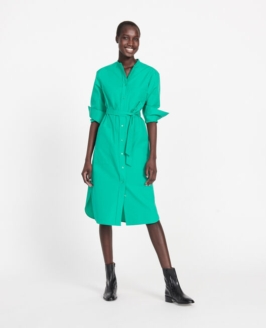 Vestido largo oversize GOLF GREEN