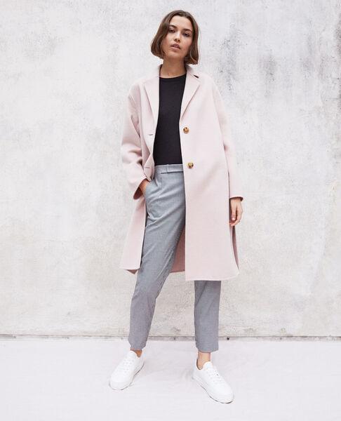 Comptoir des Cotonniers - Abrigo de doble cara Pink icing - 1