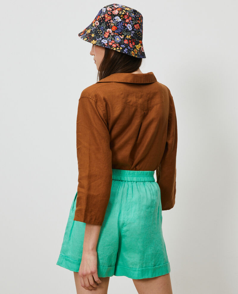 Chaquetón de lino Monks robe Lortet