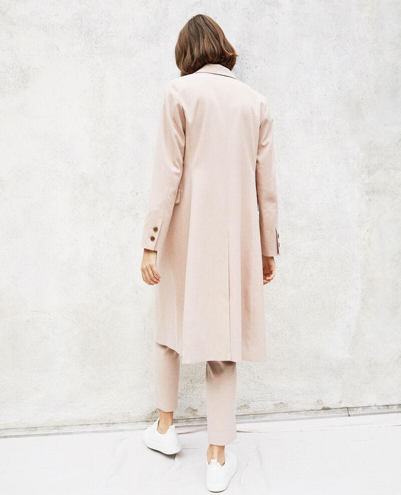 Abrigo ligero largo Pink beige Illinois