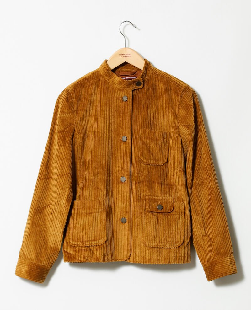 Chaqueta de pana gruesa Golden brown Goiseau