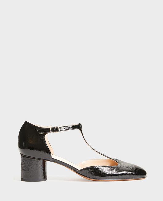Zapatos salomé de charol  BLACK BEAUTY