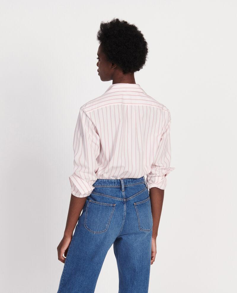 Camisa clásica de popelina Popeline stripe3 Labilo
