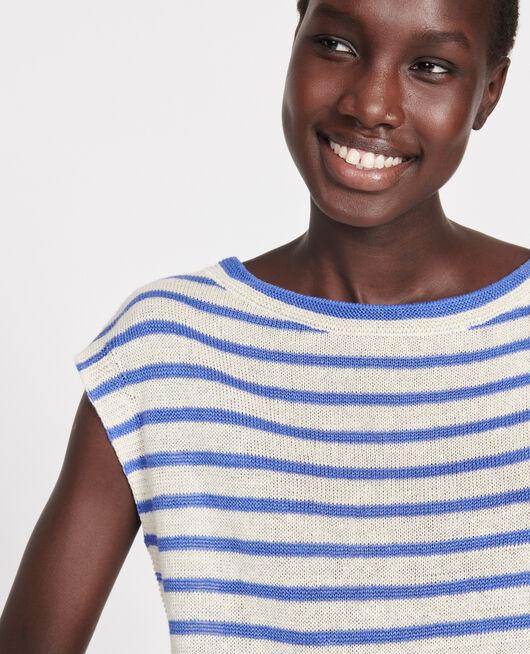 Camiseta de lino con tirantes STR BUTTER AMPARO