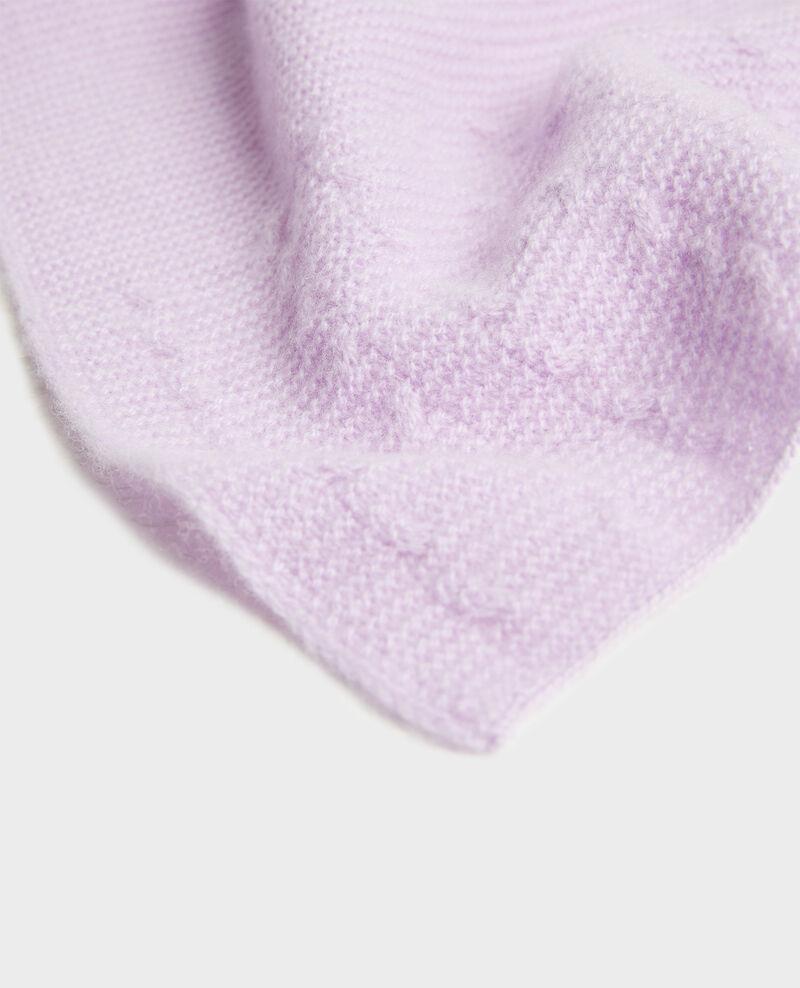 Bufanda de cachemir  Pastel lilac Minet