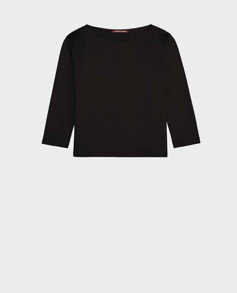Camiseta de algodón egipcio Black beauty Lotel