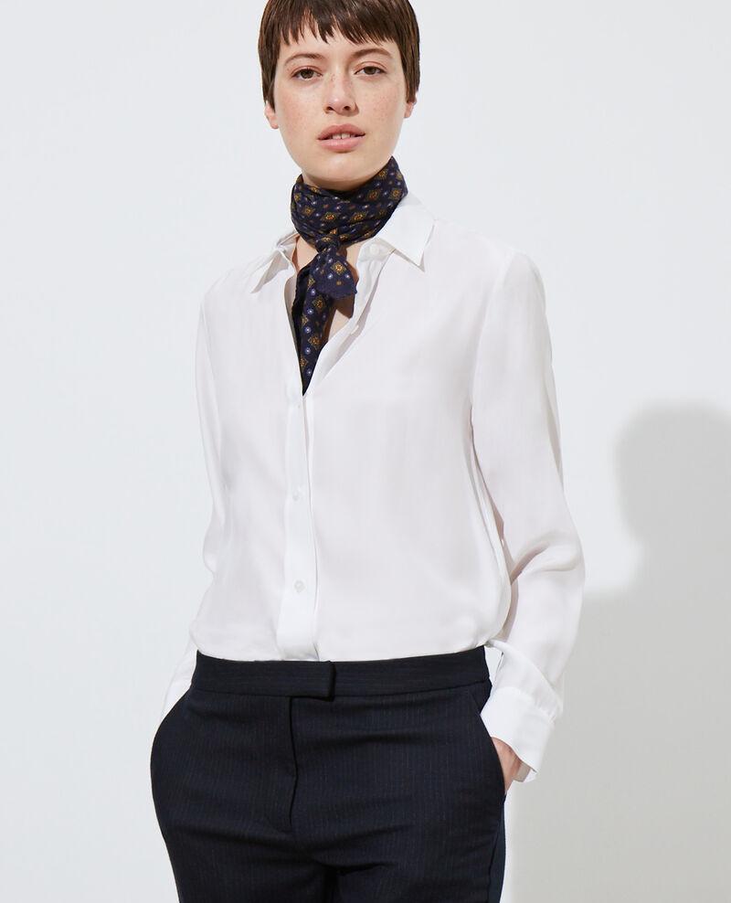 SIBYLLE - Camisa de seda Optical white Loriges