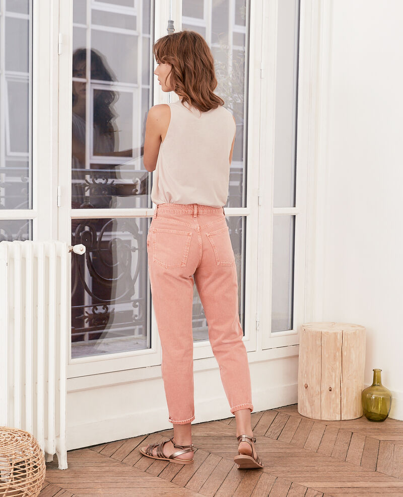 Jeans corte vintage Faded rose Farrago