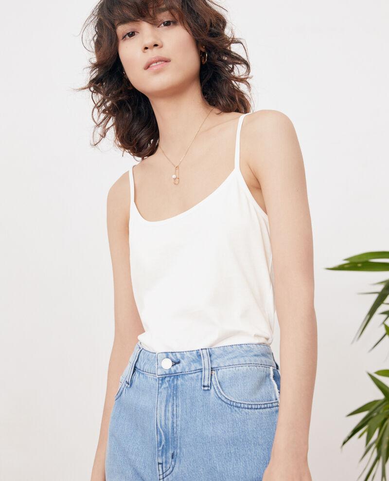 Camiseta de tirantes Off white Feddo