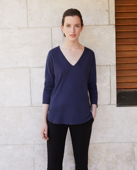 Camiseta de algodón PEACOAT