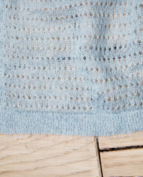 Comptoir des Cotonniers - Bufanda de punto fantasía Blue mirage - 3