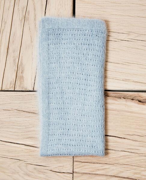 Comptoir des Cotonniers - Bufanda de punto fantasía Blue mirage - 2