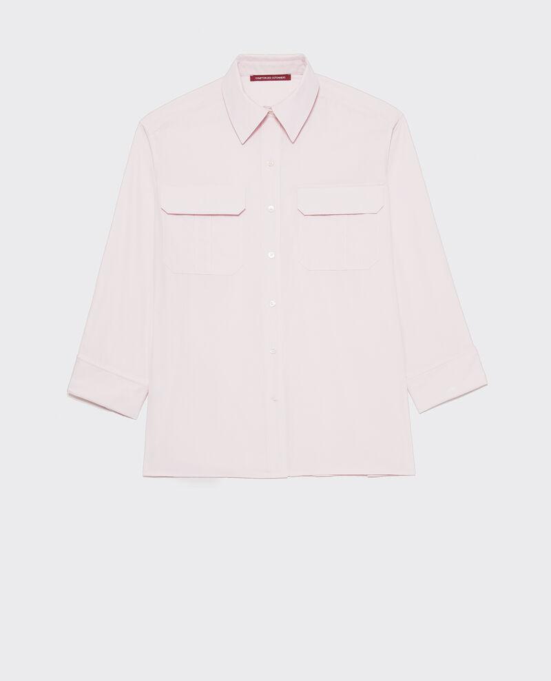 Camisa de hombre de algodón oversize  Primrose pink Lauryl