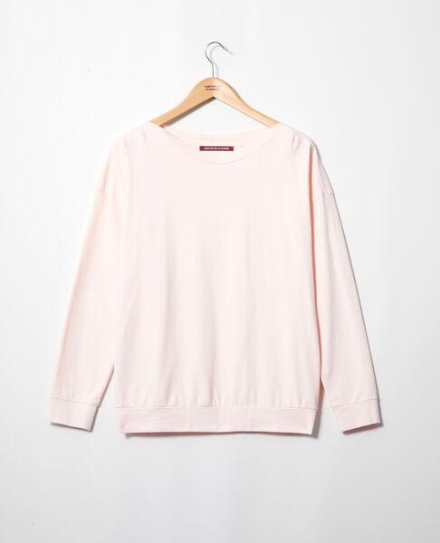 Comptoir des Cotonniers - Sudadera de cuello barco Light pink - 3