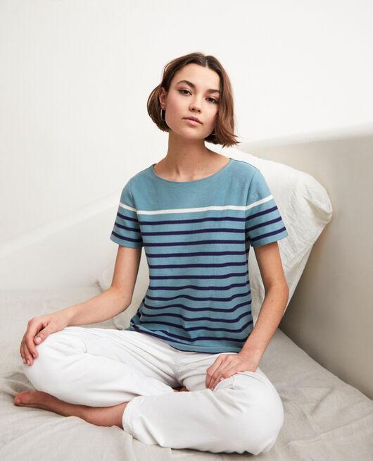 Camiseta de rayas BM/NAVY/OW