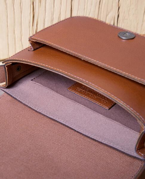 Comptoir des Cotonniers - Bolso de cuero Camel - 3