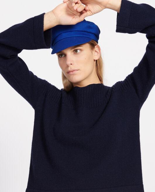 Jersey de lana y cachemir MARITIME BLUE