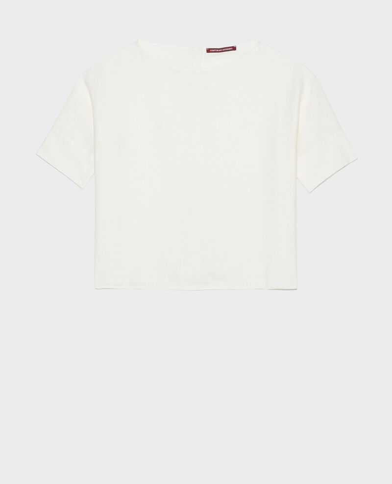 Blusa de lino Gardenia Lordat