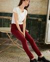 Jeans corte slim Cabernet Jilineto