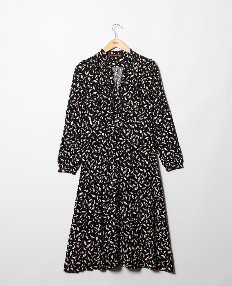 Vestido tipo túnica Negro Gaetane