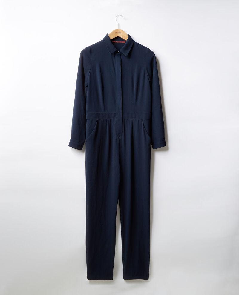 Mono camisa fluida Navy Divine