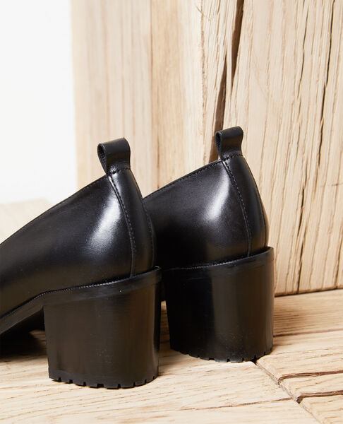 Comptoir des Cotonniers - Zapatos salón de piel Noir - 3